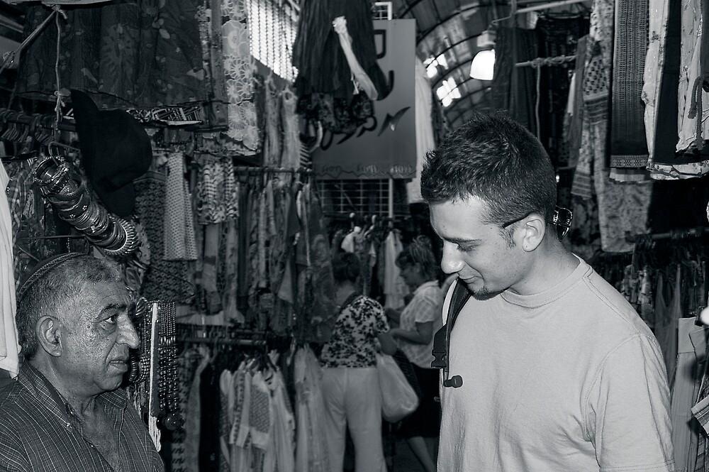 Jaffa Bazaar by Michael Redbourn