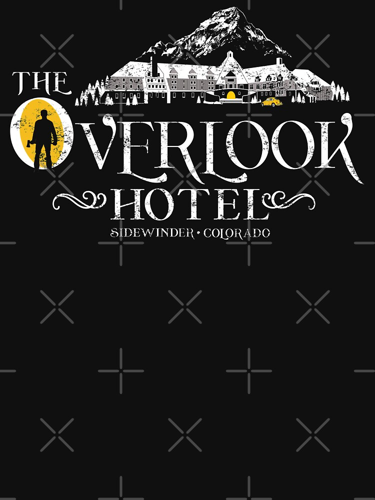 The Shining - Overlook Hotel Yellow lights (Distressed) by Purakushi