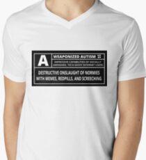 Weaponized Autism V-Neck T-Shirt
