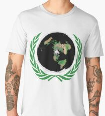 Flat Earth Men's Premium T-Shirt
