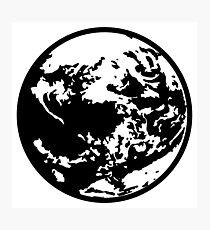 Earthbound logo (big) Photographic Print