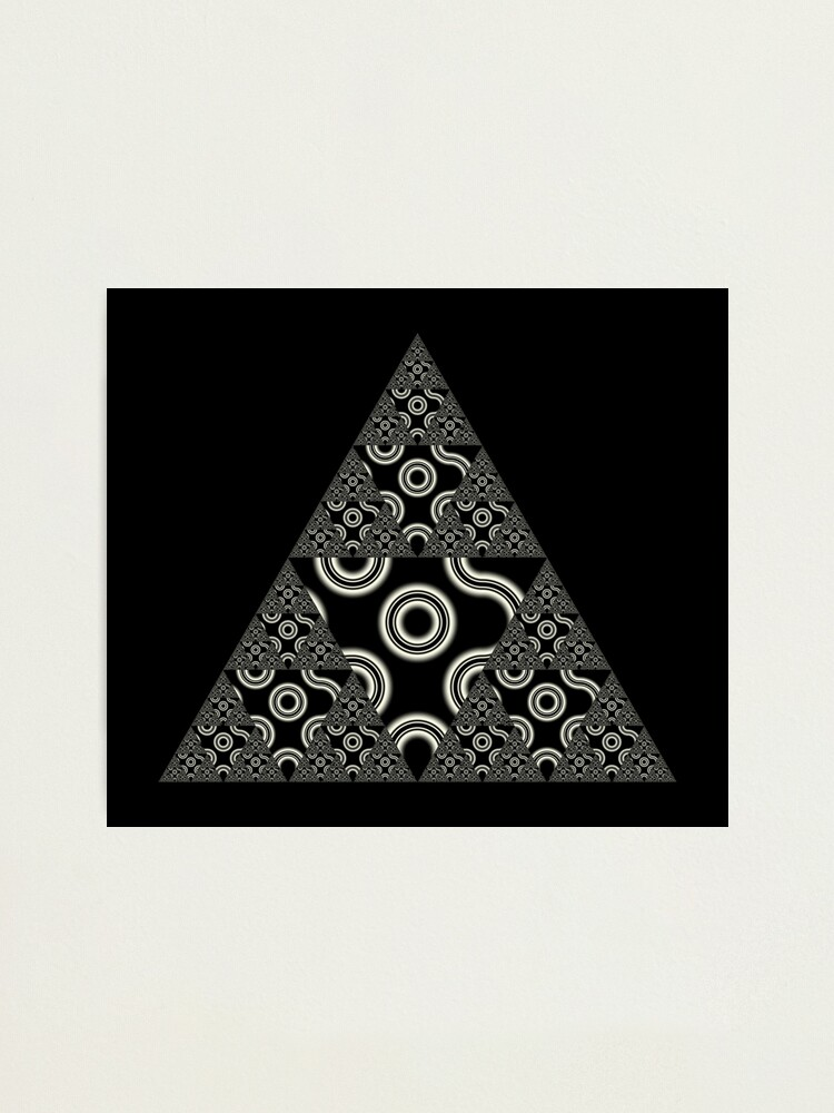 Alternate view of Sierpinski IV Photographic Print