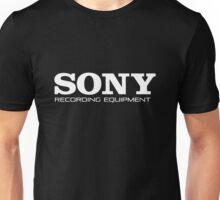 Sony Recording Equipment Unisex T-Shirt