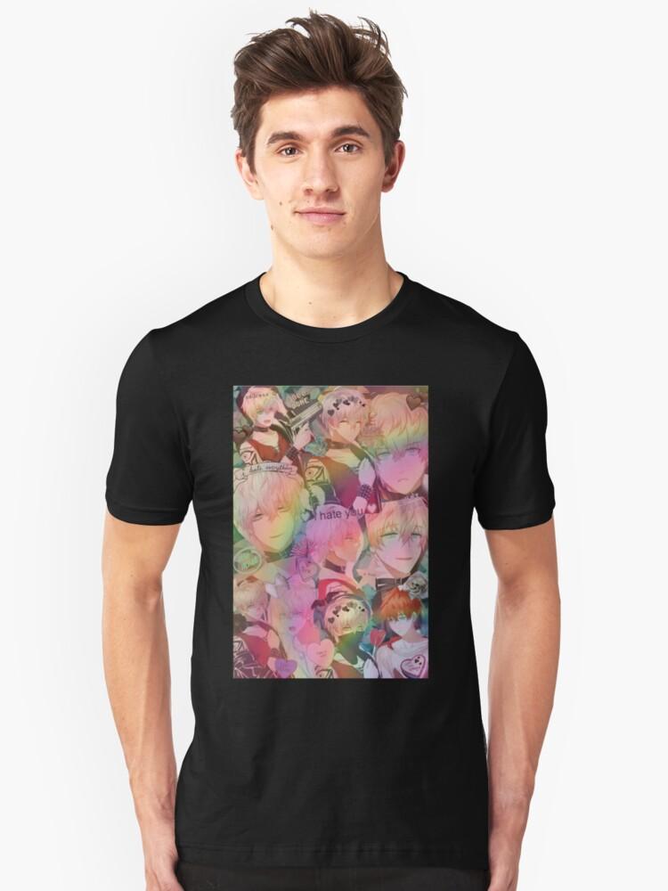 Mystic Messenger-Saeran Unisex T-Shirt Front