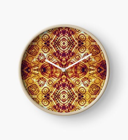 Zen I Am Sacral Flow  Clock