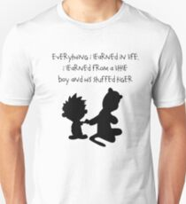 Hobbes Friendly Quotes T-Shirt