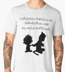 Hobbes Friendly Quotes Men's Premium T-Shirt