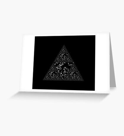 Sierpinski XI Greeting Card