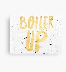 Boiler Up - Speckled Canvas Print