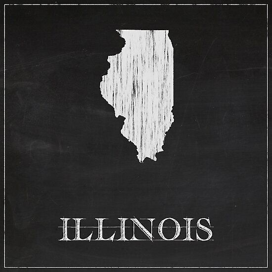 Illinois - Chalk by FinlayMcNevin