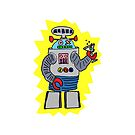 Robotini small pocket by Ollie Brock