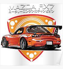 Mazda RX7 efini Poster