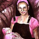 "Its A Girl by Belinda ""BillyLee"" NYE (Printmaker)"