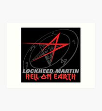 Lockheed Martin - Hell On Earth Art Print
