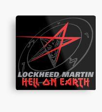 Lockheed Martin - Hell On Earth Metal Print