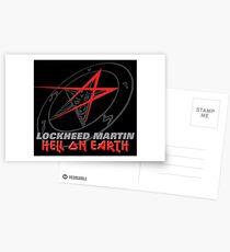 Lockheed Martin - Hell On Earth Postcards