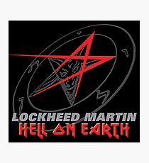 Lockheed Martin - Hell On Earth Photographic Print