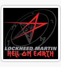 Lockheed Martin - Hell On Earth Sticker