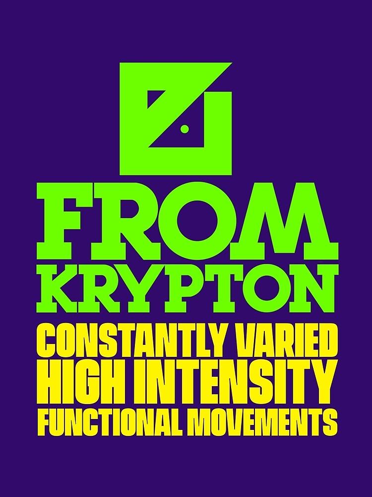 Crossfit - From Krypton by EvanBlazer