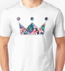 Floral Nobility Clothing Crown  T-Shirt