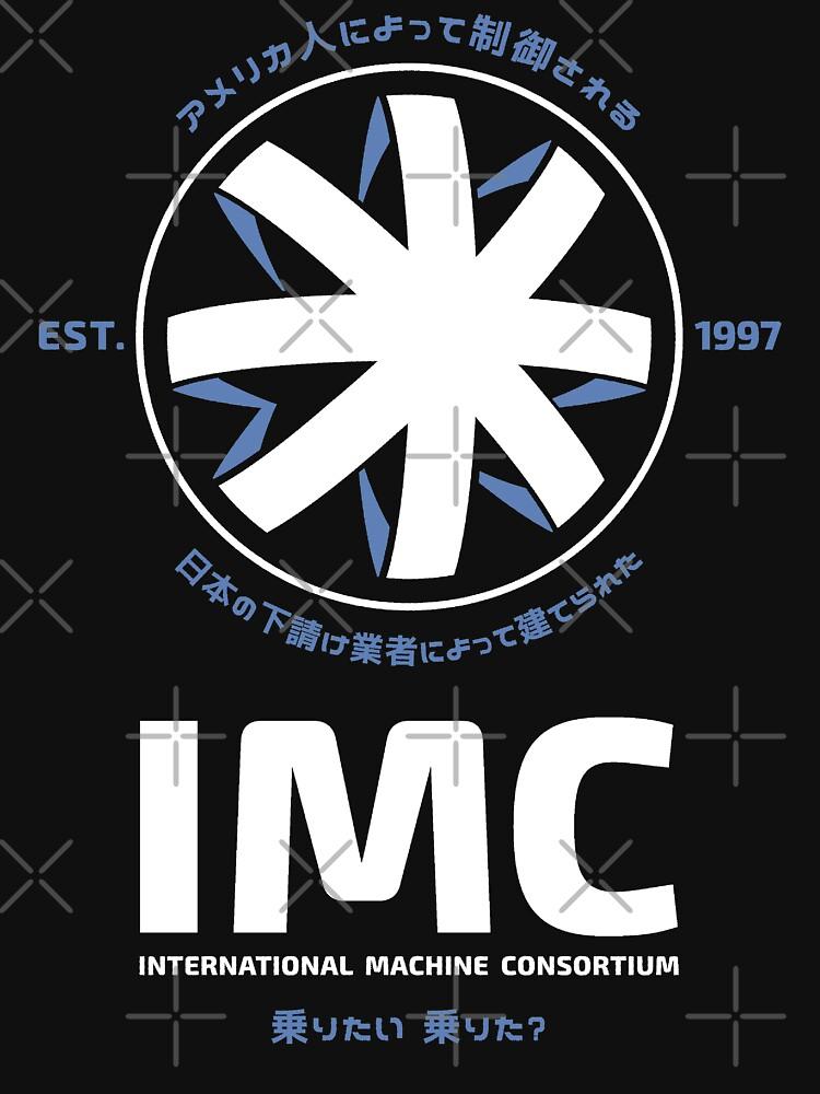 CONTACT IMC INTERNATIONAL MACHINE CONSORTIUM MOVIE LOGO by 6amCrisis