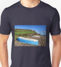 Boats Along Branscombe Beach T-Shirt