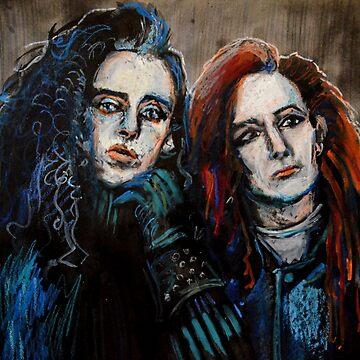 Pete Burns & Steve Coy portrait  by Dylannn