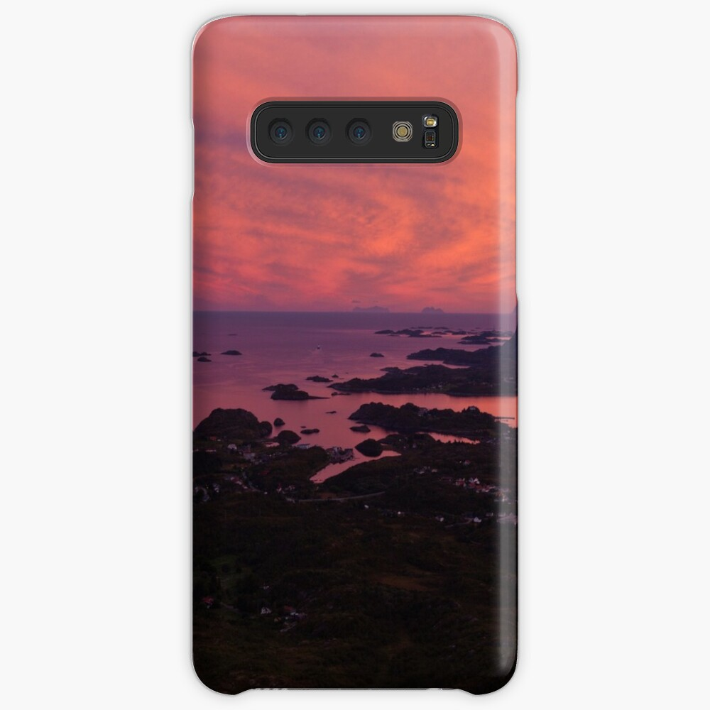 Sunset in Norway Case & Skin for Samsung Galaxy