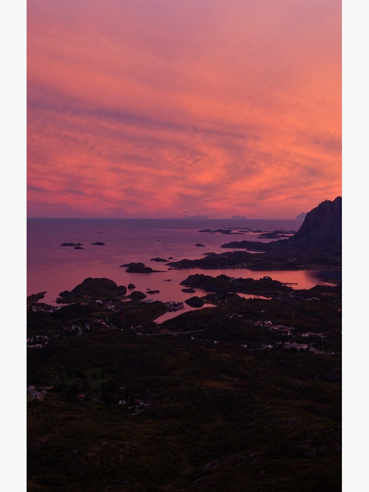 Sunset in Norway by corwin