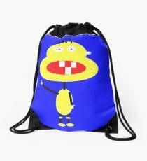 Mr. Stunnle face Drawstring Bag