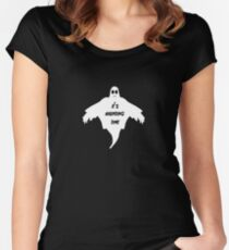 It's Hunting Time - Spooky, Creepy, Ghosts Women's Fitted Scoop T-Shirt