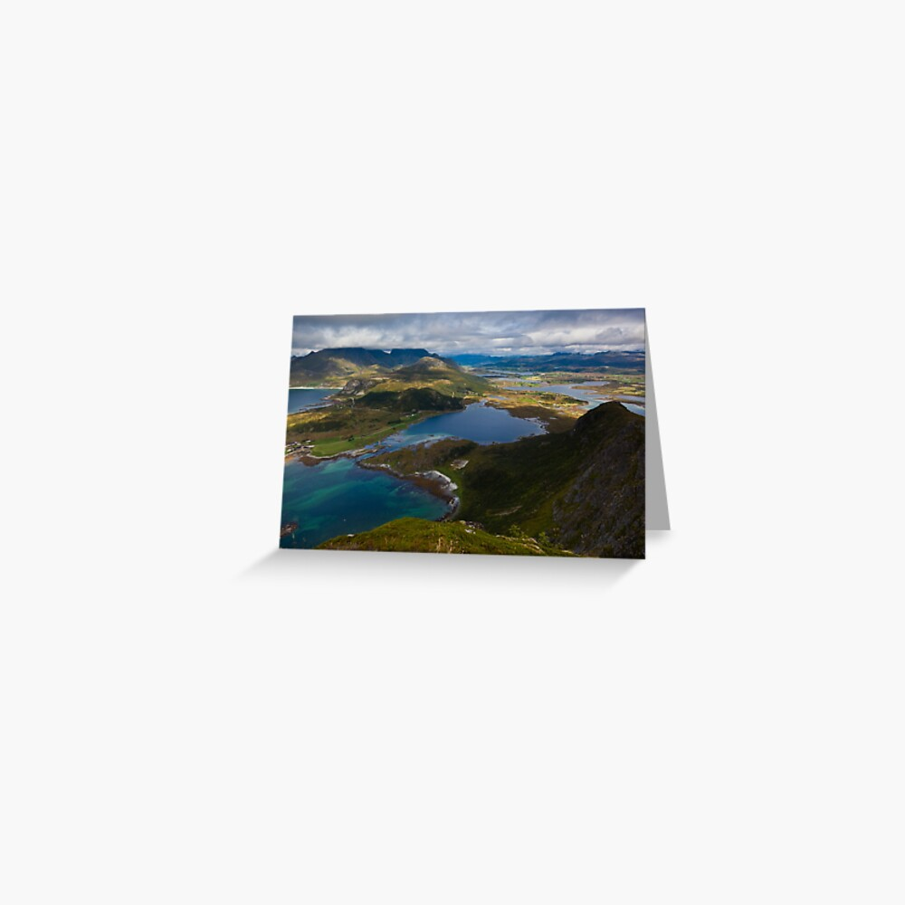 Landscape of Norway (2 of 3) Greeting Card