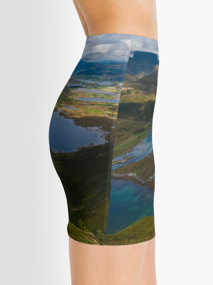 Alternate view of Landscape of Norway (2 of 3) Mini Skirt