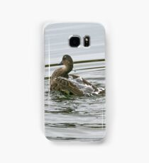 Chestnut Teal - female (4169) Samsung Galaxy Case/Skin