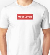 Meat Lovers box logo Unisex T-Shirt