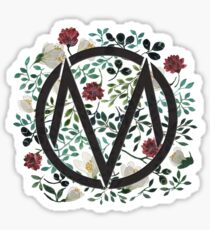 The Maine Floral Logo Sticker