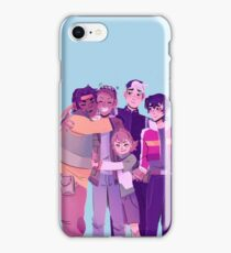 Team Voltron Group Hug!  iPhone Case/Skin