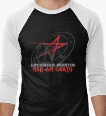 Lockheed Martin - Hell On Earth Men's Baseball ¾ T-Shirt