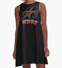 Lockheed Martin - Hell On Earth A-Line Dress