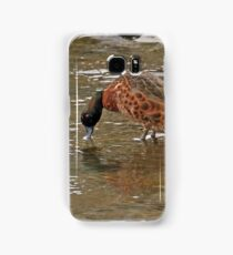 Chestnut Teal - male (4180) Samsung Galaxy Case/Skin