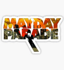 Mayday Parade Album Art Logo Sticker