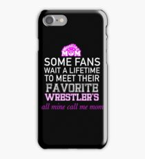 Proud Wrestling Mom?  iPhone Case/Skin