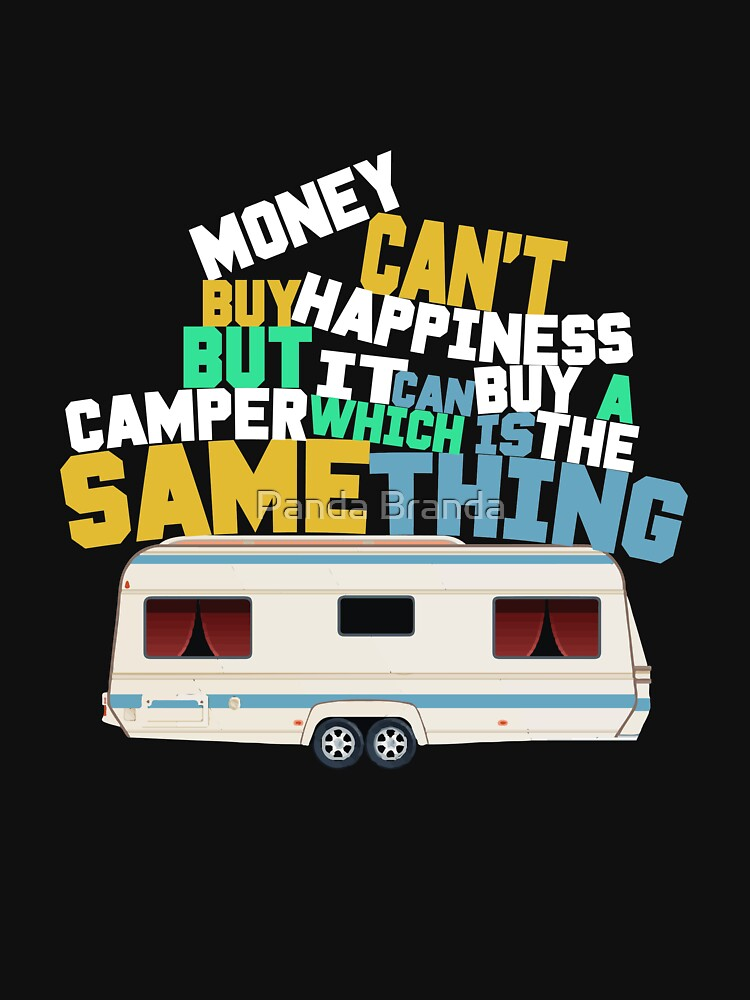 Money Can't Buy Happiness Art Design by CrusaderStore