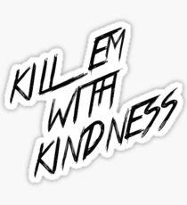 selena gomez kill em with kindness Sticker