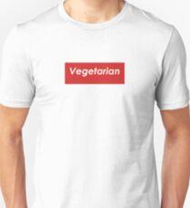 Vegetarian Box Logo Unisex T-Shirt