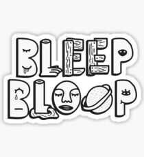 bleep bloop Sticker