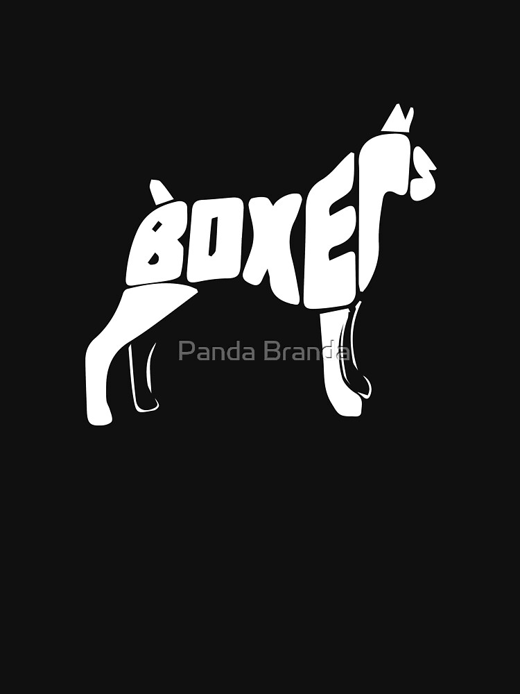 Boxer Dog Art Design by CrusaderStore