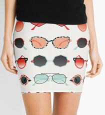 Sunglasses Collection – Red & Mint Palette Mini Skirt