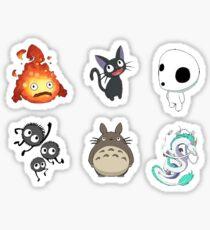 Studio Ghibli Sticker Set Sticker