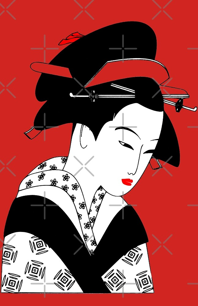 Geisha Girl | Japanese by jdamelio